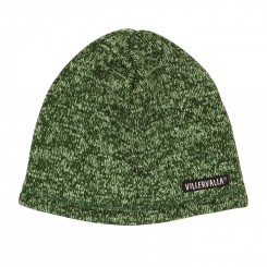 Villervalla - Grøn fleece hue