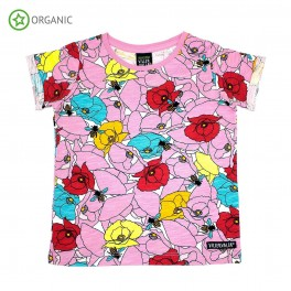 Villervalla - T-shirt, lyserød
