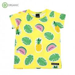 Villervalla - T-shirt, gul