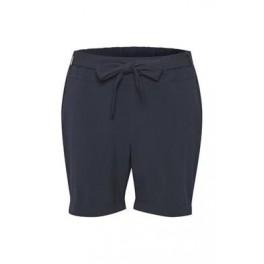 KAFFE - Jillian, bermuda shorts med bindebånd