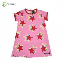 Villervalla - kjole med store stjerne