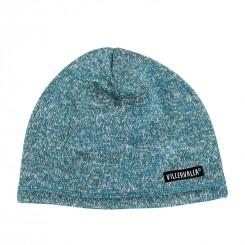 Villervalla - Fleece hue, blå