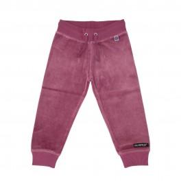 Villervalla - Velour bukser, gammel rosa