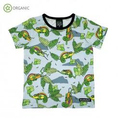 Villervalla - T-shirt med kamæleoner