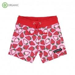 Villervalla - Shorts med jordbær