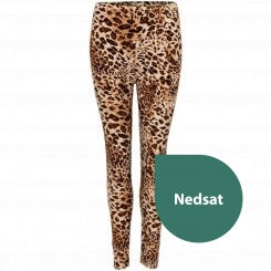 House of soul - leggings med leopard print