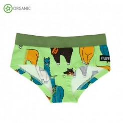 Villervalla - Underbukser, grøn
