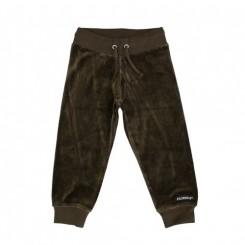 Villervalla - Velour bukser, brun