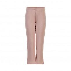Minymo - Bukser i rib, lys-rosa