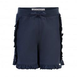 Minymo - Shorts med flæser
