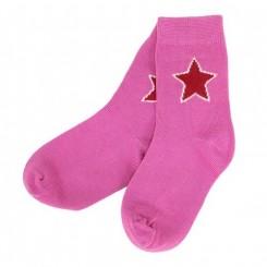 Villervalla - Strømper, pink