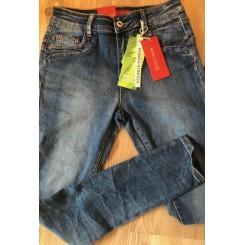 Marc Lauge - Jeans power stretch, lys