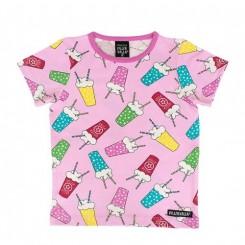 Villervalla - T-shirt med milkshake