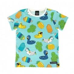 Villervalla - T-shirt med sommermotiv