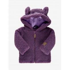 Minymo - Jakke, fleece, lilla