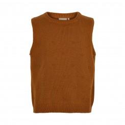 Minymo - Vest, rust-farvet