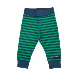 Villervalla - Baby bukser med striber, blå