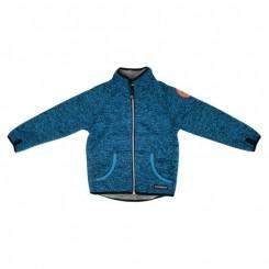 Villervalla - Pile fleece jakke, Marineblå