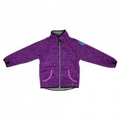 Villervalla - Pile fleece jakke, lilla
