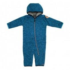Villervalla - Pile fleece dragt, marineblå
