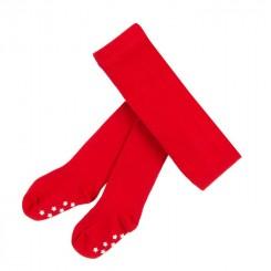 Villervalla - Røde strømpebukser med dupper