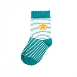 Villervalla - Blåstribet sokker