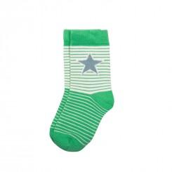 Villervalla - Grønstribet sokker