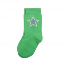 Villervalla - Sokker solid grøn