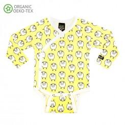 Villervalla - Body gul får