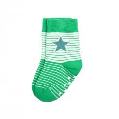 Villervalla - Skridsikre sokker grøn