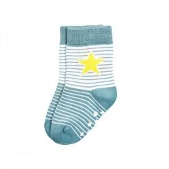 Villervalla - Skridsikre sokker grå