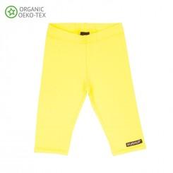 Villervalla - Capri leggings gul