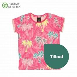 Villervalla - Pink palme t-shirt