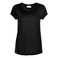 KAFFE - Anna O-neck t-shirt black