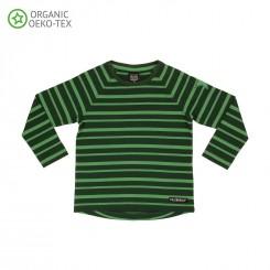 Villervalla - Grøn stribet bluse